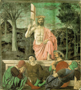 """Jesus Resurrected,"" by Piero della Francesca."